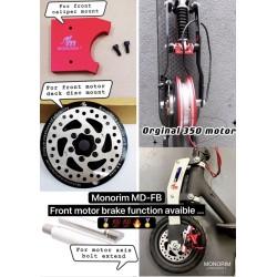 MD-FB电机盖将小米电机升级为盘式制动器