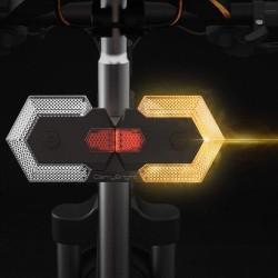 Luz intermitente para bici patinete