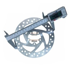 140 mm bremžu disks...