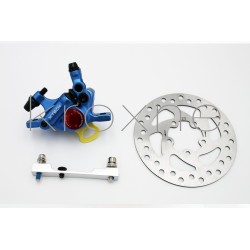 Complete blue xTech brake...