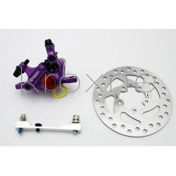 Complete purple xTech brake...