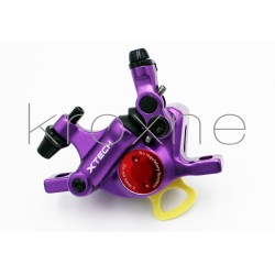 Purple xTech brake caliper...