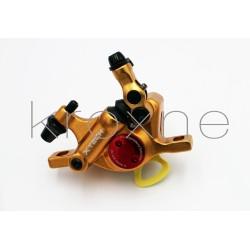 Gold xTech brake caliper...