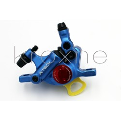 Blue xTech brake caliper...