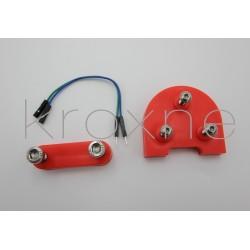 Alçador / adaptador vermell...